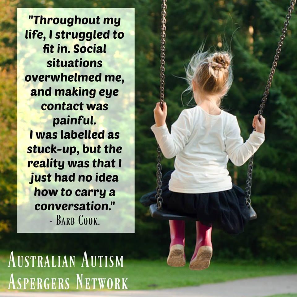 Australian Autism Aspergers Network Inc Barb Cook