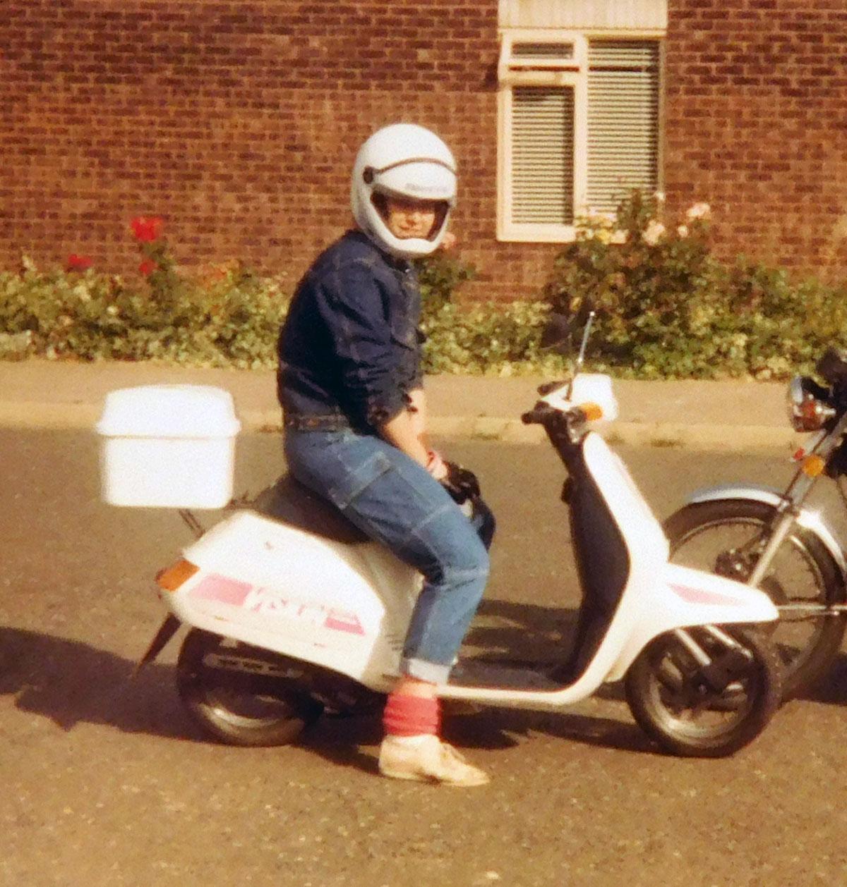 Barb Cook Honda Vision 50X